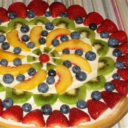 بيتزا الفواكه