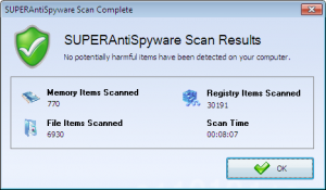 SuperAntiSpyware-scan