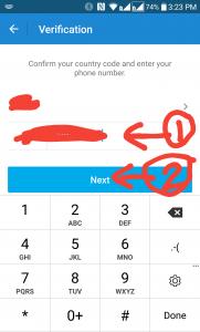 خطوات انشاء حساب بوتيم