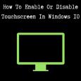 من مميزات ويندوز 10 هو دعمه الرائع لخاصية اللمس في الشاشة بشكل رائع ويمكنك الاستفادة من اللمس الموجود في الجهاز بمجرد تنزيل ويندوز 10 ويمكنك تعطيلها من خلال النظام في […]